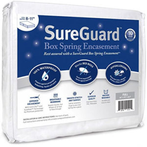 Image of Full Size SureGuard Box Spring Encasement