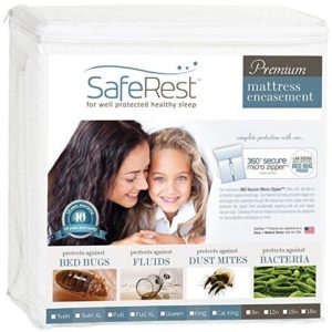 Image of SafeRest Premium Zippered Mattress Encasement