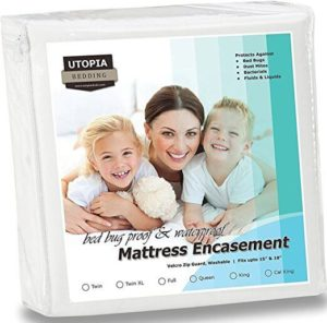 Image of Utopia Bedding Waterproof Zippered Mattress Encasement